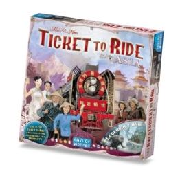 Zug um Zug Spiel Asien