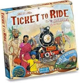 Zug um Zug Spiel Indien