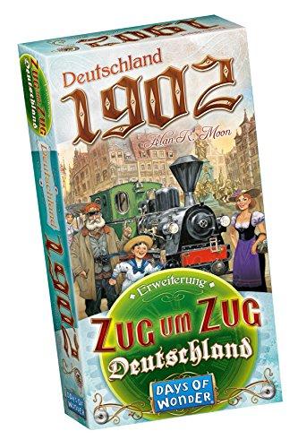 Zug um Zug Deutschland Erweiterung