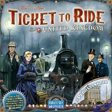 Ticket To Ride United Kingdom. [Espansione per Ticket To Ride]. - 1
