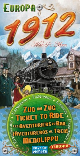 Zug um Zug Europa 1912 Erweiterung - 1