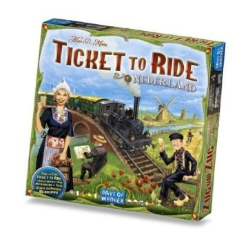 Zug um Zug Spiel Niederlande (Englische Texte!l) - 1